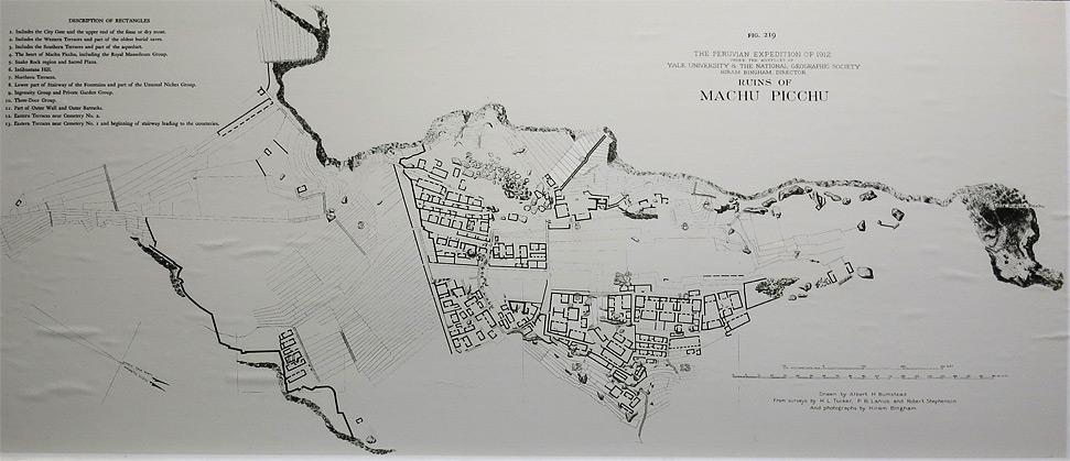 Die erste Karte der Ruinen
