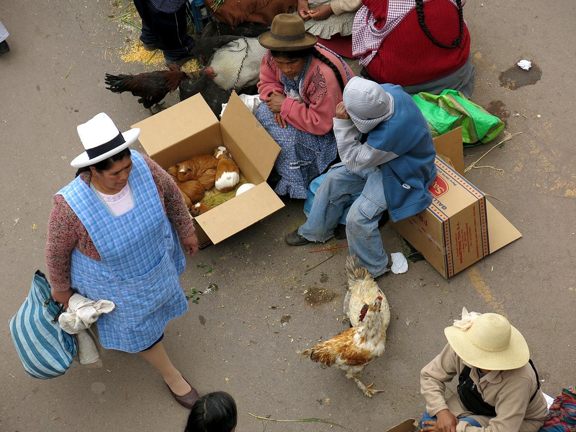 Straßenmarkt in Cusco