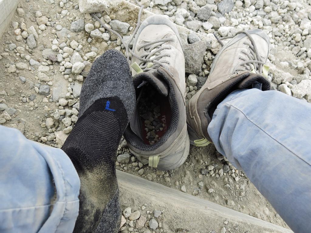 Intuitiv die richtige Socke angezogen...