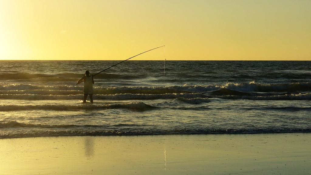 8 Std angeln und nichts fangen? Abgehakt!