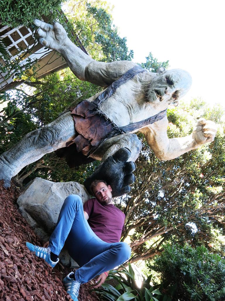 Angriff der Orks in den Weta Caves